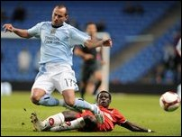 Астон Вилла и Манчестер Сити в Кубке УЕФА