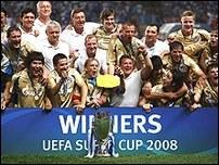 Зенит - обладатель Суперкубка УЕФА