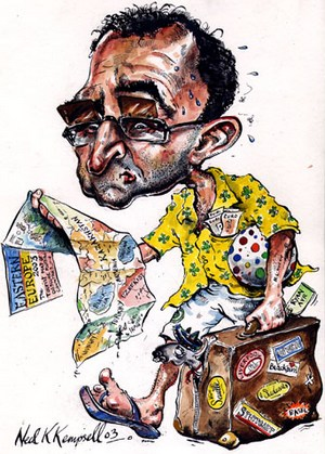 Карикатура на Мартина О Нила