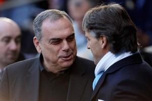 Аврам Грант и Роберто Манчини - бедный и богатый