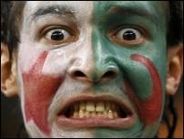 Болельщик сборной Алжира