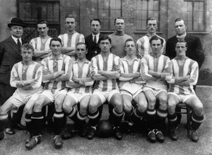 Хаддерсфилд в 1924 году