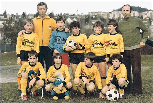 Совсем еще юный Ди Маттео-футболист