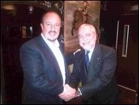 Рафаэль Бенитес и Аурелио Де Лаурентис