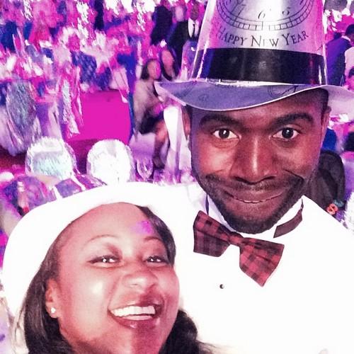 Фабрис Муамба с женой