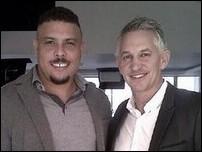 Роналдо и Гари Линекер