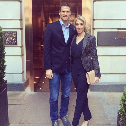 Асмир Бегович с женой
