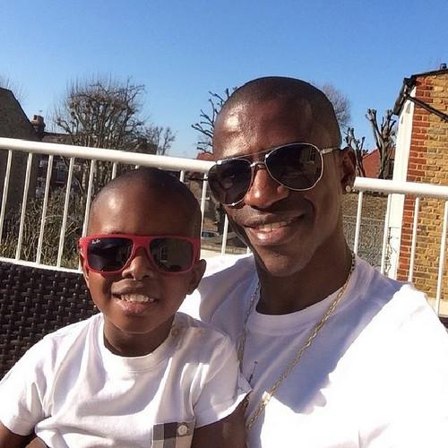 Рамирес с сыном