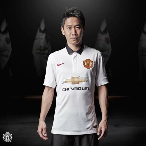 Новая выездная форма Манчестер Юнайтед