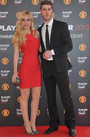 Давид де хеа и его девушка