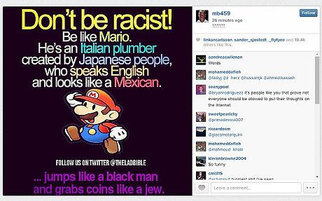 Instagram Марио Балотелли