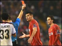 Красная карточка Лазара Марковича