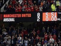 Манчестер юнайтед против арсенал 8 2