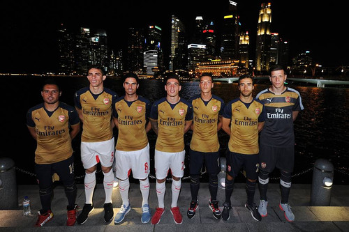 Новая выездная форма Арсенала