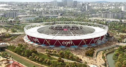 Олимпийский стадион в лондоне вест хэм фото