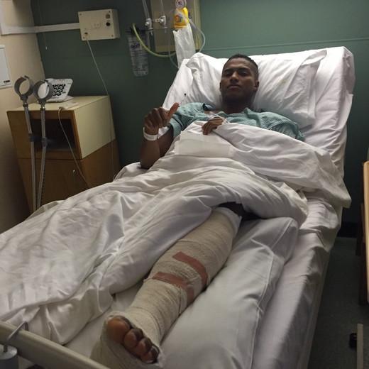 Антонио Валенсия после операции