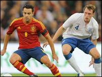 Англия - Испания в ноябре 2011