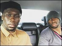 Бакари Санья и Эльяким Мангала