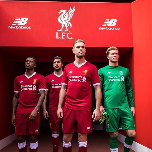 Новая домашняя форма Ливерпуля на сезон 2017/18