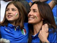 Жена и дочь Антонио Конте