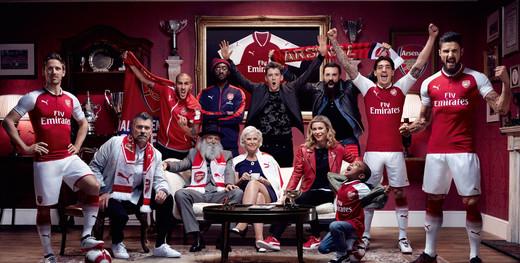 Новая домашняя форма Арсенала на сезон 2017/18