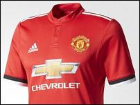 Новая домашняя форма Манчестер Юнайтед на сезон 2017/18
