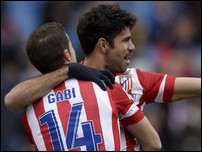 Габи и Диего Коста