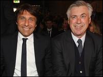 Анчелотти и Конте