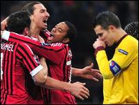 Милан против Арсенала