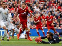 Матч Ливерпуля и Манчестер Юнайтед