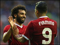 Салах и Фирмино