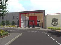 Новая база Ливерпуля в Киркби