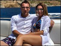 Джон Терри с женой