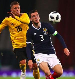 Энди Робертсон в сборной Шотландии