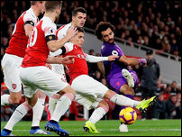 Мохамед Салах против Арсенала