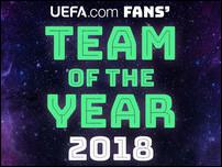 Символическая сборная УЕФА 2018 года