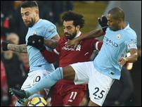 Манчестер Сити против Ливерпуля