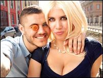 Мауро Икарди с женой