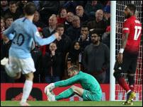 """Сити"" на классе выиграл дерби Манчестера и приблизился к титулу"