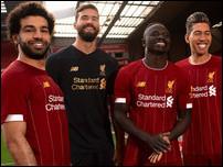 Новая домашняя форма Ливерпуля на сезон 2019/20