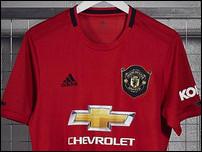 Новая домашняя форма Манчестер Юнайтед на сезон 2019/20