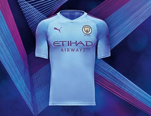Новая форма Манчестер Сити на сезон 2019/20