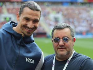 Златан Ибрагимович и Мино Райола