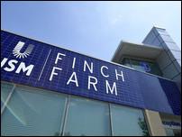 База Эвертона в Финч Фарм