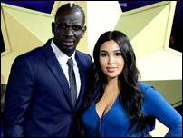 Мамаду Сако с женой
