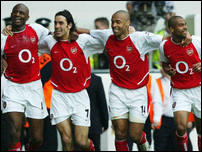 Арсенал в сезоне 2003/04