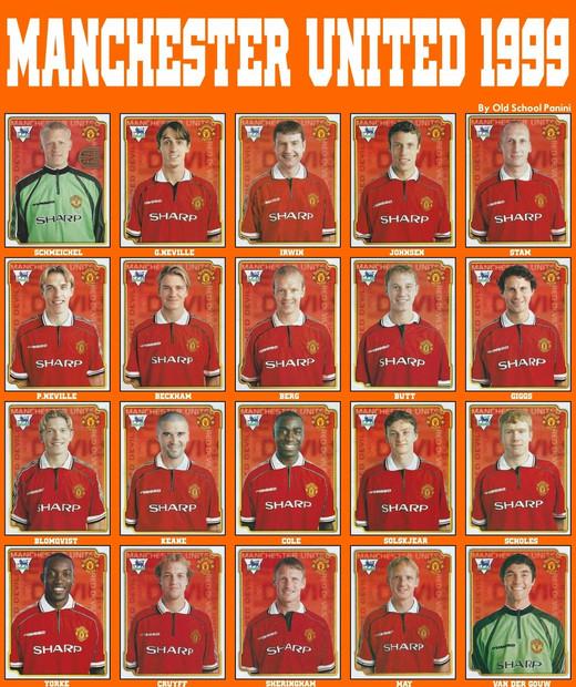 Манчестер Юнайтед образца 1999 года