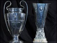 Трофеи УЕФА