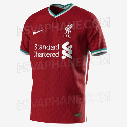 Новая домашняя форма Ливерпуля от Nike