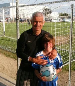 Тони Маунт с сыном